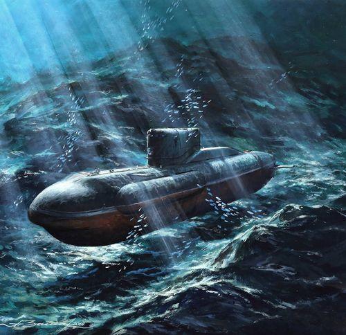 связать подводную лодку